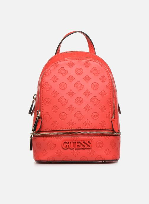 Sacs à dos Guess SKYE SMALL BACKPACK Rouge vue détail/paire