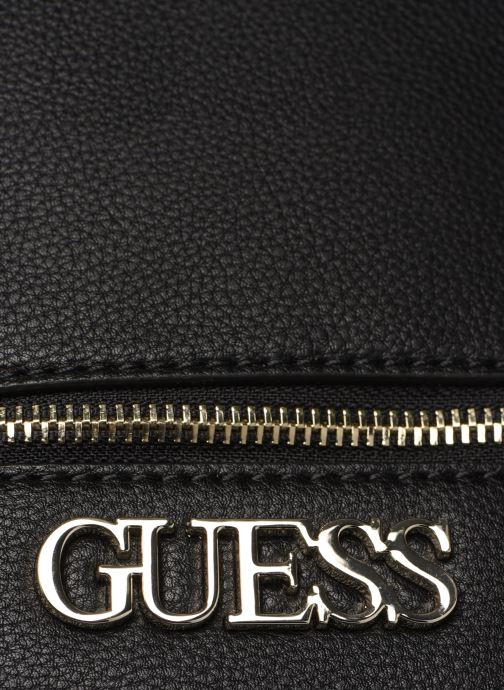 Rucksacks Guess SKYE SMALL BACKPACK Black view from the left