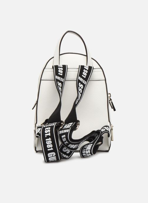 Sacs à dos Guess SKYE SMALL BACKPACK Blanc vue face