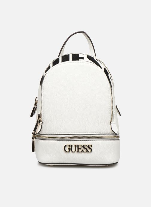 Sacs à dos Guess SKYE SMALL BACKPACK Blanc vue détail/paire