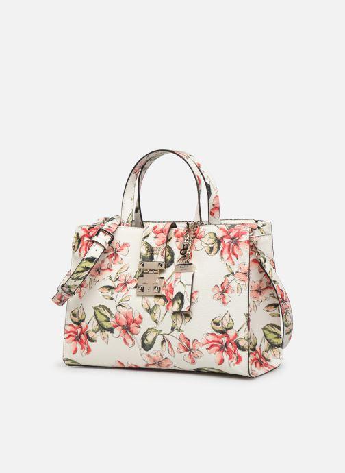 Handbags Guess TIGGY SOCIETY SATCHEL White model view