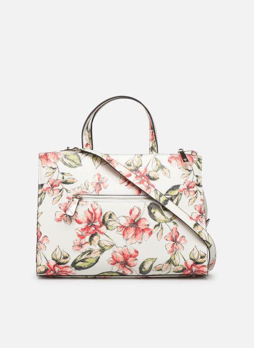 Handbags Guess TIGGY SOCIETY SATCHEL White front view