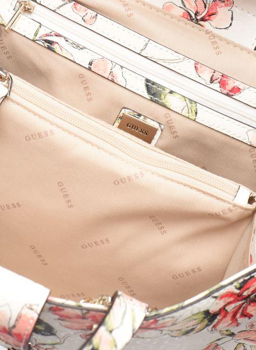 Handbags Guess TIGGY SOCIETY SATCHEL White back view