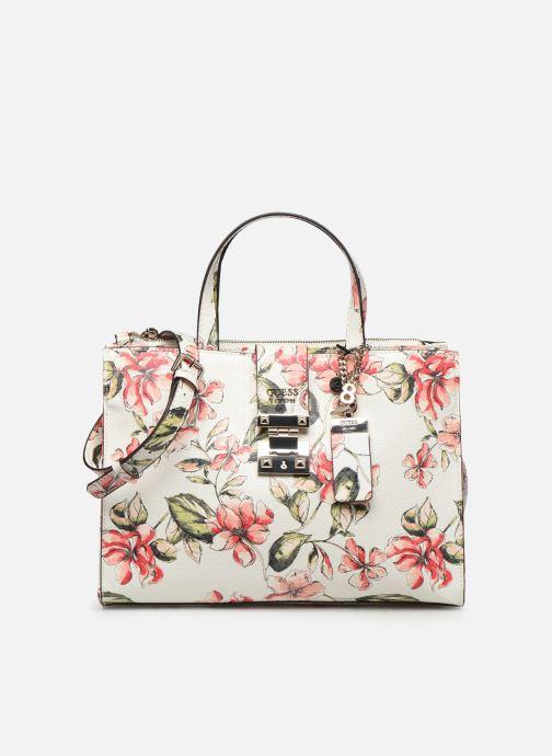 Handbags Guess TIGGY SOCIETY SATCHEL White detailed view/ Pair view