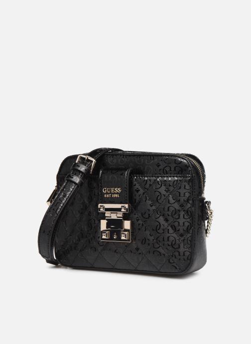 Handbags Guess TIGGY CAMERA BAG Black model view