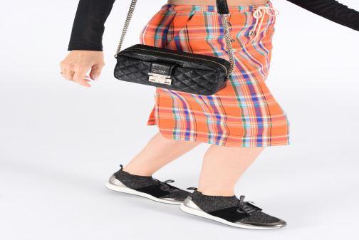 Handbags Guess TIGGY CAMERA BAG Black view from underneath / model view