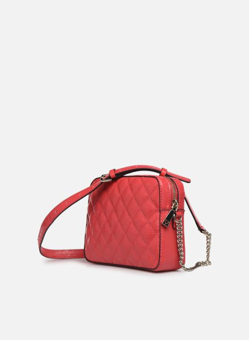 Bolsos de mano Guess TIGGY CAMERA BAG Rojo vista lateral derecha