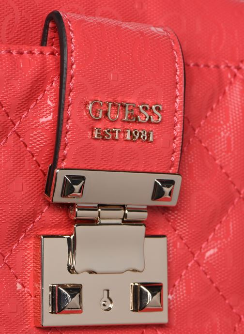 Handbags Guess TIGGY CAMERA BAG Red view from the left
