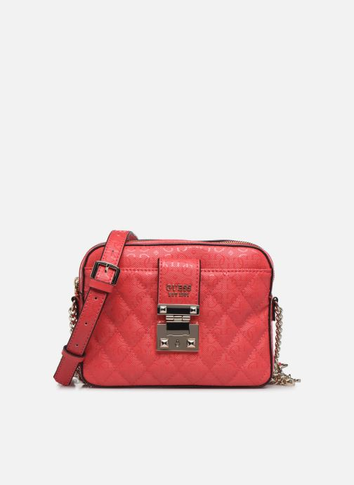 Bolsos de mano Guess TIGGY CAMERA BAG Rojo vista de detalle / par