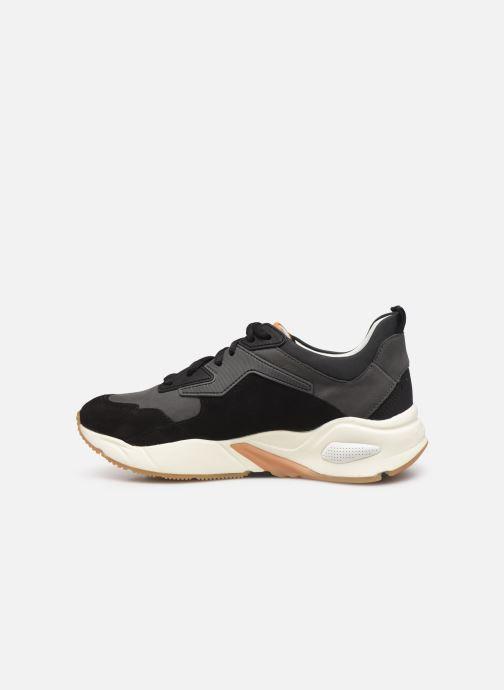 Sneakers Timberland Delphiville Leather Sneaker Zwart voorkant