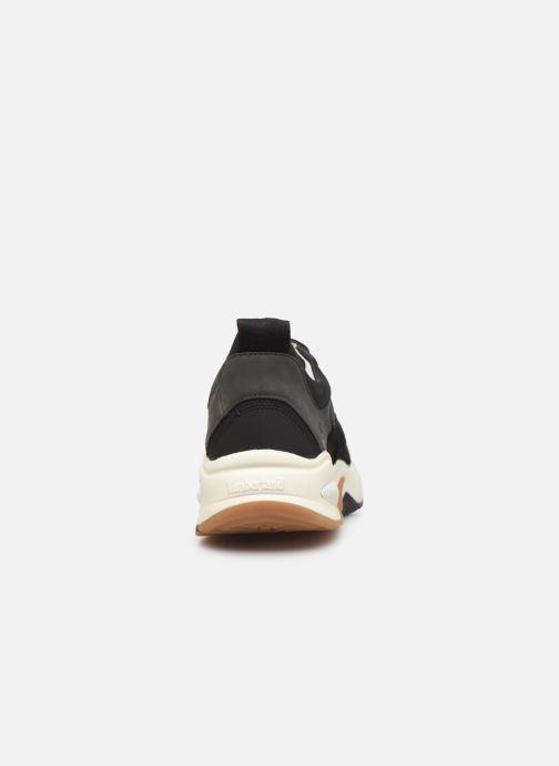 Sneakers Timberland Delphiville Leather Sneaker Zwart rechts