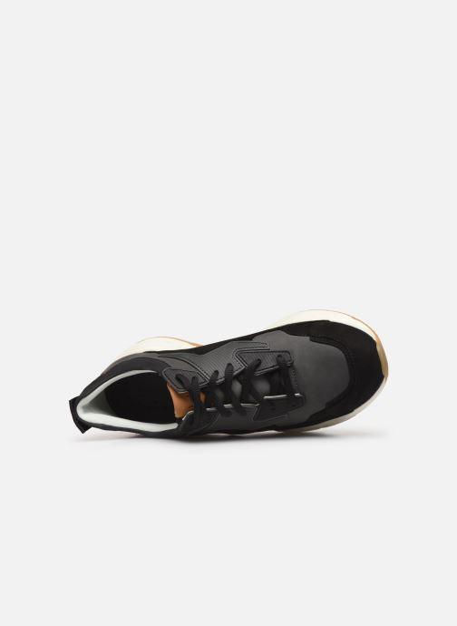 Sneakers Timberland Delphiville Leather Sneaker Nero immagine sinistra