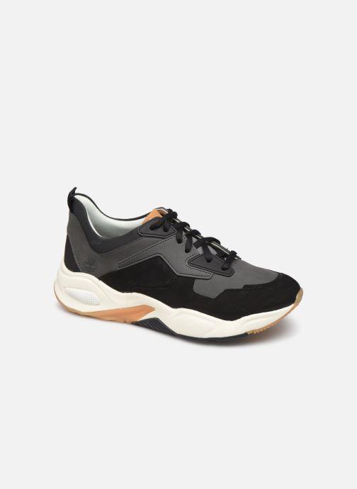 Baskets Timberland Delphiville Leather Sneaker Noir vue détail/paire