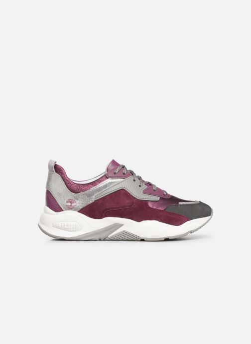Deportivas Timberland Delphiville Leather Sneaker Violeta      vistra trasera