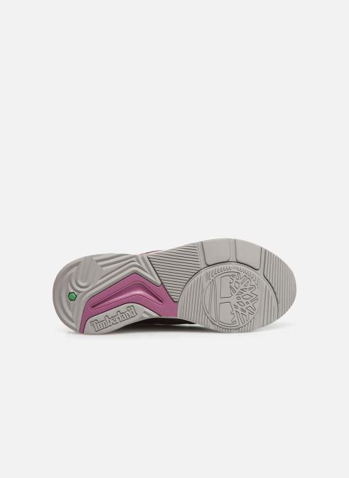 Deportivas Timberland Delphiville Leather Sneaker Violeta      vista de arriba