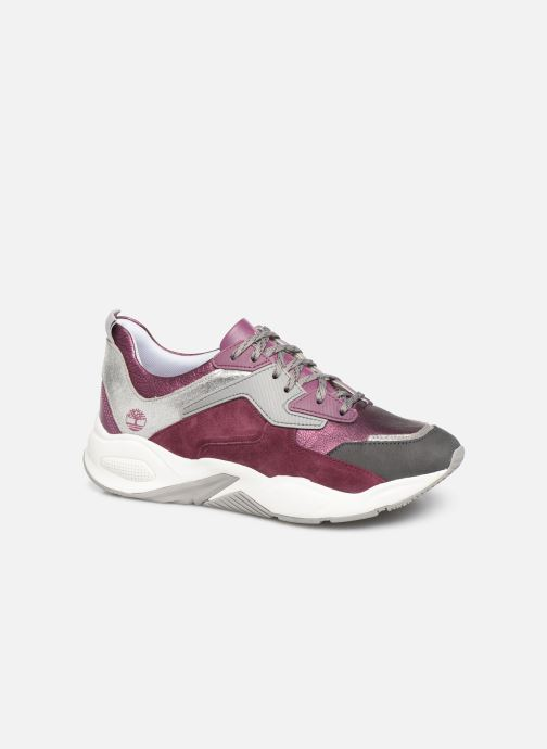 Deportivas Timberland Delphiville Leather Sneaker Violeta      vista de detalle / par