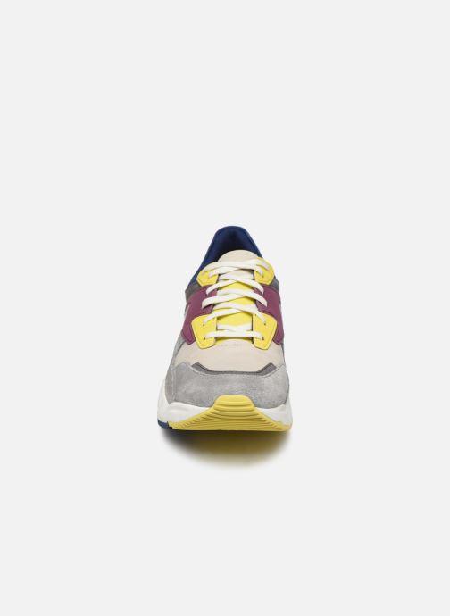 Baskets Timberland Delphiville Leather Sneaker Multicolore vue portées chaussures