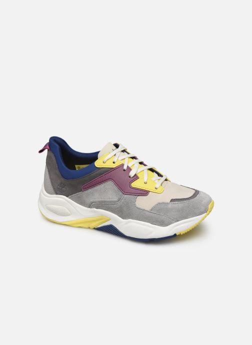 Baskets Timberland Delphiville Leather Sneaker Multicolore vue détail/paire