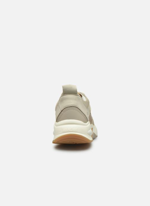 Trainers Timberland Delphiville Leather Sneaker Beige view from the right