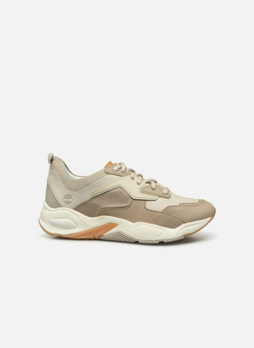 Trainers Timberland Delphiville Leather Sneaker Beige back view
