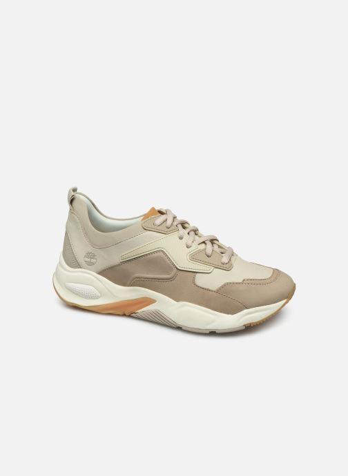 Baskets Timberland Delphiville Leather Sneaker Beige vue détail/paire