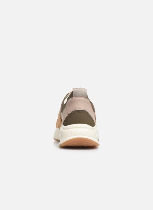 Sneakers Timberland Delphiville Leather Sneaker Bruin rechts