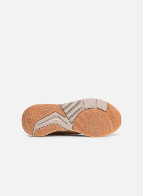 Sneakers Timberland Delphiville Leather Sneaker Bruin boven