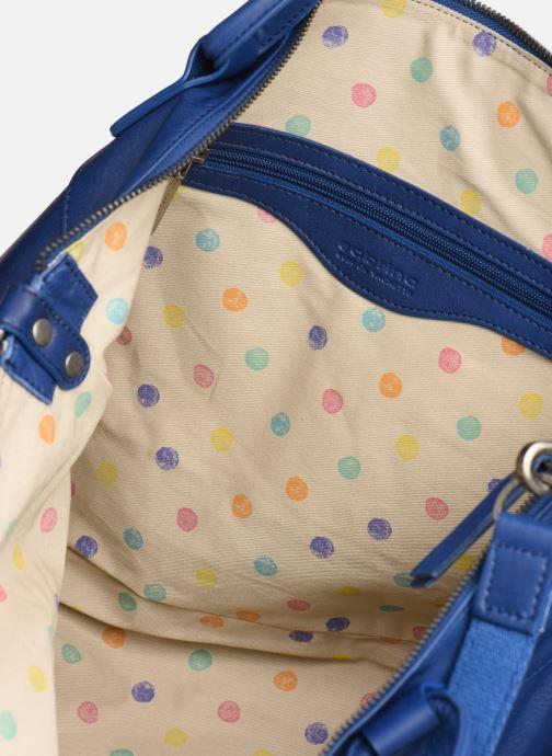 Handväskor Sabrina Raphaëlle Blå bild från baksidan