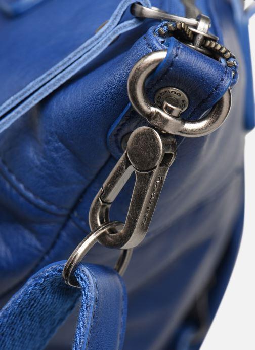 Handväskor Sabrina Raphaëlle Blå bild från vänster sidan