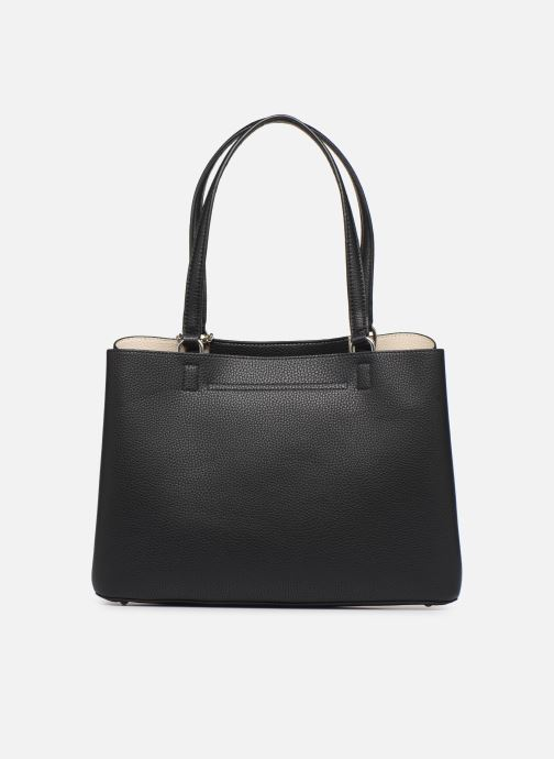 Borse Guess ARETHA GIRLFRIEND CARRYALL Nero immagine frontale