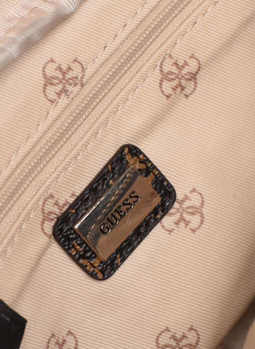 Kleine lederwaren Guess LEEZA BELT BAG Bruin achterkant