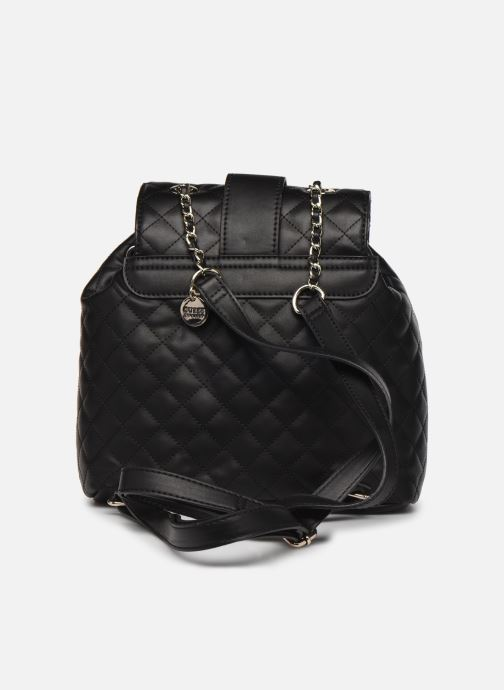 Sacs à dos Guess MIRIAM BACKPACK Noir vue face