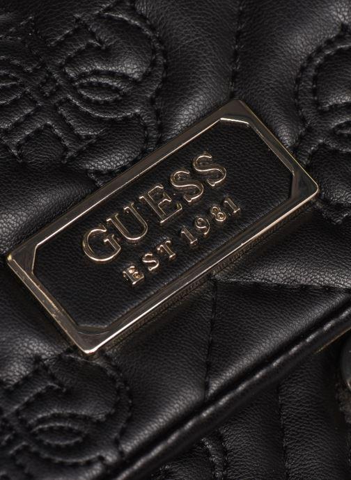 Bolsos de mano Guess SHANINA CONVERTIBLE CROSSBODY FLAP Negro vista lateral izquierda