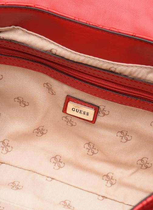 Handtassen Guess SHANINA CONVERTIBLE CROSSBODY FLAP Rood achterkant
