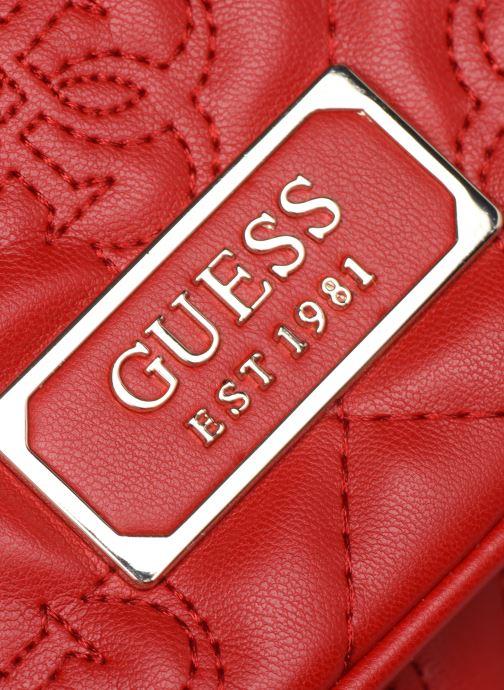 Handtaschen Guess SHANINA CONVERTIBLE CROSSBODY FLAP rot ansicht von links