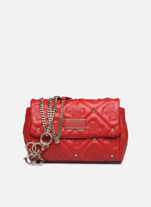 Bolsos de mano Guess SHANINA CONVERTIBLE CROSSBODY FLAP Rojo vista de detalle / par