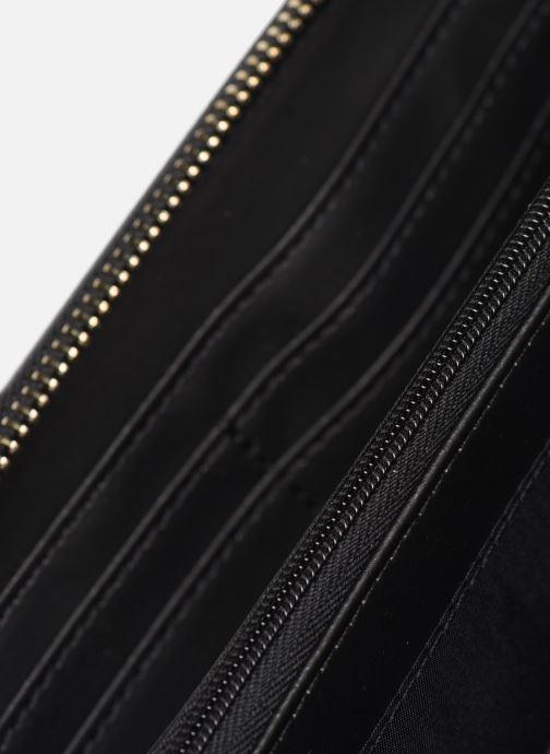 Portemonnaies & Clutches Guess WILONA LARGE ZIP AROUND schwarz ansicht von hinten