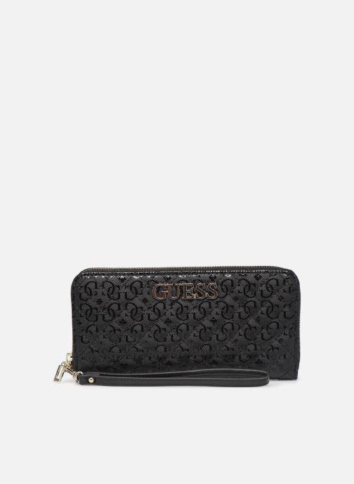 Portemonnaies & Clutches Guess WILONA LARGE ZIP AROUND schwarz detaillierte ansicht/modell