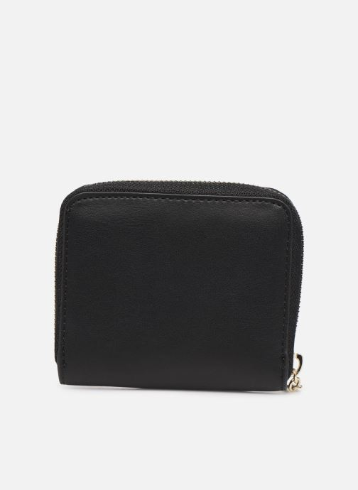 Petite Maroquinerie Guess CHRISSY SMALL ZIP AROUND Noir vue face