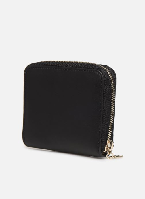 Petite Maroquinerie Guess CHRISSY SMALL ZIP AROUND Noir vue droite