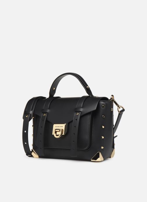 Handtassen Michael Michael Kors MANHATAN MD TH SCHOOL SATCHEL Zwart model