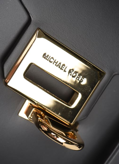 Handtassen Michael Michael Kors MANHATAN MD TH SCHOOL SATCHEL Zwart links