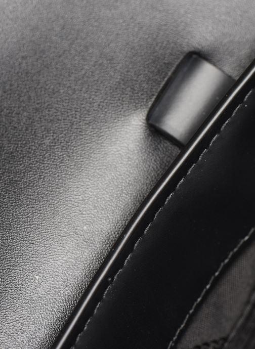 Handtassen Michael Michael Kors MANHATAN SM MESSENGER Zwart achterkant