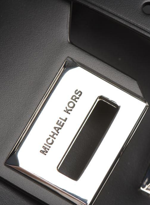 Handtassen Michael Michael Kors MANHATAN SM MESSENGER Zwart links