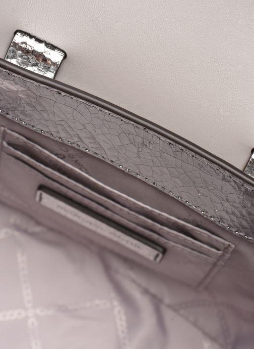 Borse Michael Michael Kors MANHATAN SM MESSENGER Argento immagine posteriore