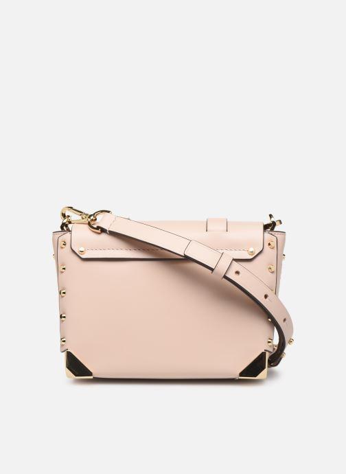 Handbags Michael Michael Kors MANHATAN SM MESSENGER Pink front view