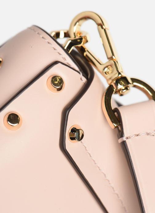 Handtaschen Michael Michael Kors MANHATAN SM MESSENGER rosa ansicht von links