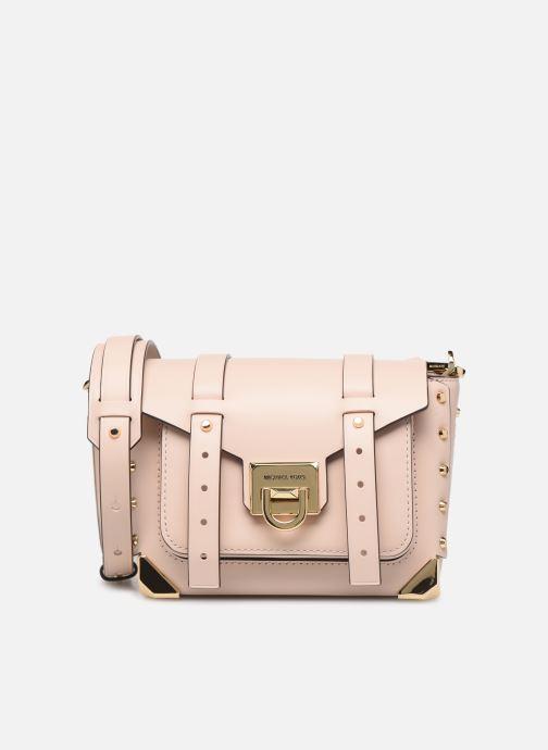 Handbags Michael Michael Kors MANHATAN SM MESSENGER Pink detailed view/ Pair view