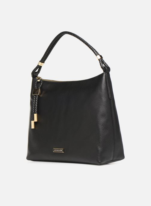 Handbags Michael Michael Kors LEXINGTON LG SHOULDER Black model view