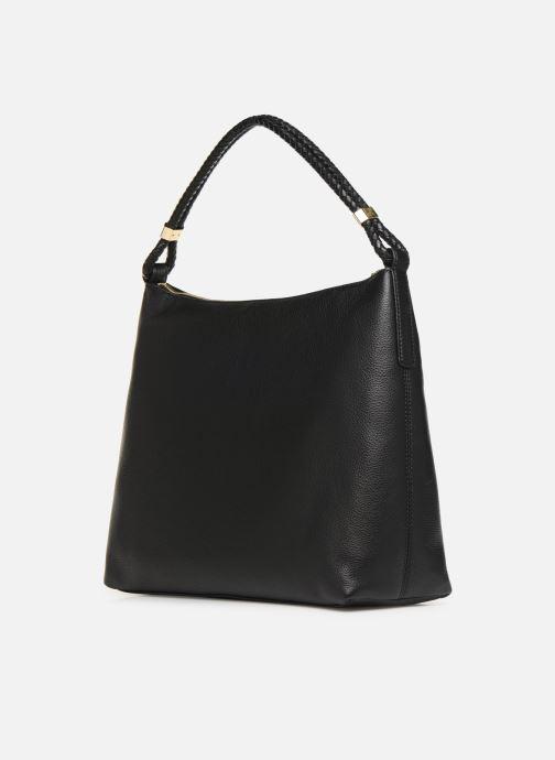 Handtaschen Michael Michael Kors LEXINGTON LG SHOULDER schwarz ansicht von rechts